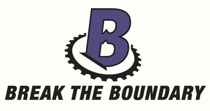Break the boundary logo with picture of